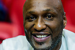 Lamar Odom attends a basketball game between HKPA and Tycoon at Southorn Stadium on June 22, 2018 in Hong Kong, Hong Kong. Photo by Yu Chun Christopher Wong / Power Sport Images