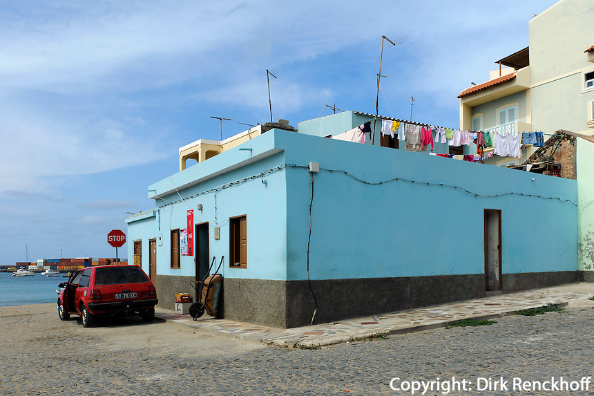 am Hafen, Sal Rei, Boa Vista, Kapverden, Afrika