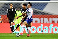 22nd April 2021; Dragao Stadium, Porto, Portugal; Portuguese Championship 2020/2021, FC Porto versus Vitoria de Guimaraes; Mateus Uribe of FC Porto challenges Abdul Mumin of Vitoria de Guimaraes