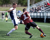 The Winthrop University Eagles played the UNC Wilmington Seahawks in The Manchester Cup on April 5, 2014.  The Seahawks won 1-0.  Cody Winter (2, Winthrop), Spencer Tayloe (2)