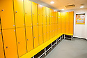 Ladies changing rooms at the Studio at the New Gym Facility at Stenhousemuir.