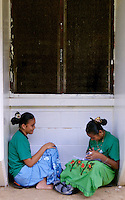 Students from the Chuuk Public High School