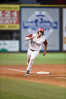 ***Temporary Unedited Reference File***Chattanooga Lookouts right fielder Daniel Palka (33) during a game against the Montgomery Biscuits on May 2, 2016 at AT&T Field in Chattanooga, Tennessee.  Chattanooga defeated Montgomery 9-6.  (Mike Janes/Four Seam Images)