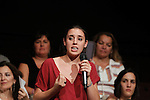 `Podemos´ member Irene Montero during the political party team presentation for the Spanish General Elections in Madrid, Spain. July 16, 2015. (ALTERPHOTOS/Victor Blanco)