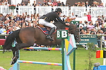 International Jumping in Chantilly France Jur Vrieling (NED) riding VDL Emmerton. 5th  place.