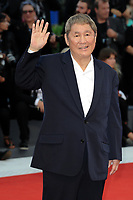 Japanese director Takeshi Kitano arrives for the Award Ceremony of the 74th Venice Film Festival on September 8, 2017 in Venice, Italy.<br /> UPDATE IMAGES PRESS/Marilla Sicilia<br /> <br /> *** ONLY FRANCE AND GERMANY SALES ***