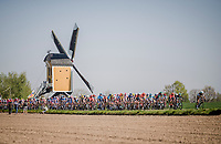 obligatory windmill shot at Amstel<br /> <br /> 54th Amstel Gold Race 2019 (1.UWT)<br /> One day race from Maastricht to Berg en Terblijt (NED/266km)<br /> <br /> ©kramon