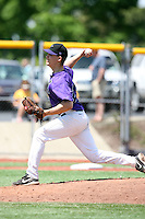 May 15, 2009:  Relief Pitcher Adam Wagner of Niagara University delivers a pitch during a game at Demske Sports Complex in Buffalo, NY.  Photo by:  Mike Janes/Four Seam Images