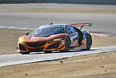 IMSA WeatherTech SportsCar Championship<br /> AMERICA'S TIRE 250<br /> Mazda Raceway Laguna Seca<br /> Monterey, CA USA<br /> Sunday 24 September 2017<br /> 86, Acura, Acura NSX, GTD, Oswaldo Negri Jr., Jeff Segal<br /> World Copyright: Richard Dole<br /> LAT Images<br /> ref: Digital Image RD_LS_17_254