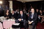 CARLO VERDONE CON IL PADRE MARIO E IL FRATELLO LUCA<br /> OPEN GATE CLUB ROMA 1988