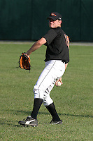 August 19, 2005:  Pitcher Chorye Spoone of the Bluefield Orioles during a game at Bowen Field in Bluefield, WV.  Bluefield is the Appalachian League Class-A affiliate of the Baltimore Orioles.  Photo by:  Mike Janes/Four Seam Images