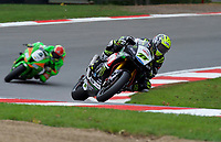 James Ellison (77) of McAdams Yamaha during 2nd practice in the MCE BRITISH SUPERBIKE Championships 2017 at Brands Hatch, Longfield, England on 13 October 2017. Photo by Alan  Stanford / PRiME Media Images.