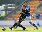 St Johnstone v Dundee...13.09.14  SPFL<br /> Jim McAlister and Scott Brown<br /> Picture by Graeme Hart.<br /> Copyright Perthshire Picture Agency<br /> Tel: 01738 623350  Mobile: 07990 594431