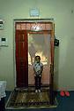 Turkey 2015<br />Little girl at the entrance of her home in Dogubayazit<br />Turquie 2015  <br />Petite fille a l'entrée de la maison familiale a Dogubayazit