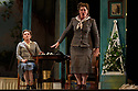 """Buxton, UK. 05.07.2017. Buxton International Festival presents """"Albert Herring"""", by Benjamin Britten, at Buxton Opera House, Buxton, Derbyshire.  Picture shows: Lucy Schaufer (Florence Pike), Yvonne Howard (Lady Billows). Photograph © Jane Hobson"""