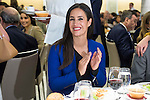 Politic Begoña Villacis during a lunch - colloquium of the Club Siglo XXI at Hotel Eurobuilding in Madrid. May 30. 2016. (ALTERPHOTOS/Borja B.Hojas)