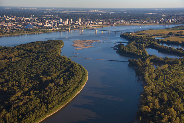 Mississippi River at Memphis Tennessee