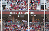 Stanford, Ca - September 17, 2016: The Stanford Cardinal vs the USC Trojans at Stanford Stadium. Final score Stanford 27, USC Trojans 10.