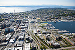 Aerial Photos-Mercer St. Corridor, South Lake Union, Seattle