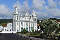 Igreja Senhora da Gracai Praia do Almoxarife auf der Insel Faial, Azoren, Portugal