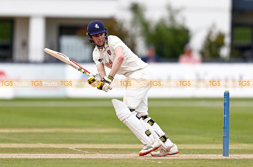 Marcus O'Riordan bats for Kent during Kent CCC vs Sussex CCC, LV Insurance County Championship Group 3 Cricket at The Spitfire Ground on 11th July 2021