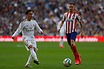 Real Madrid CF's Lucas Vazquez  and Atletico de Madrid's Saul Ñiguez during La Liga match. Feb 01, 2020. (ALTERPHOTOS/Manu R.B.)