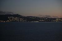 Sonnenaufgang über Fort-de-France auf Martinique