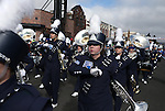 The University of Nevada, Reno marching band participates in the annual Nevada Day parade in Carson City, Nev. on Saturday, Oct. 29, 2016. <br /> Photo by Cathleen Allison