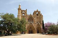 Nordzypern, Lala Mustafa Pasa-Moschee in Famagusta (Gazimagusa, Ammochostos), gegründet 1298 als Nikolaus-Kathedrale
