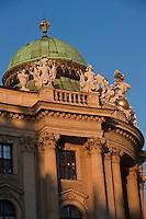 Europe/Autriche/Niederösterreich/Vienne: Dome de l'aile Saint-Michel du Palais de La Hofburg - Centre Historique, Patrimoine mondial UNESCO