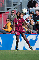 Jessica Price (6) of Florida State takes the ball down during the game at Ludwing Field in College Park, MD.  Florida State defeated Maryland, 1-0.