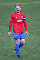 Kenny Clark of Dagenham and Redbridge during Dagenham & Redbridge vs Wealdstone, Vanarama National League Football at the Chigwell Construction Stadium on 10th October 2020