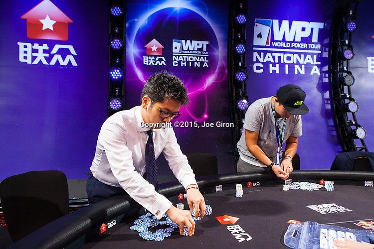 Tournament Director Roberto Wong Poker Photo Archive Com