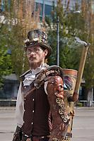 Steampunk Cosplay, Steamposium Seattle 2015, Washington State, WA, America, USA.