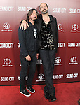 Dave Grohl and Krist Novoselic at The L.A.Premiere of Sound City held at The Cinerama Dome in Hollywood, California on January 31,2013                                                                   Copyright 2013 Hollywood Press Agency