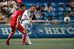 HKFA Red Dragons (in red) vs HKFC (in white), during their Main Tournament match, part of the HKFC Citi Soccer Sevens 2017 on 27 May 2017 at the Hong Kong Football Club, Hong Kong, China. Photo by Marcio Rodrigo Machado / Power Sport Images
