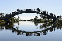 MADAGASCAR , Manajary, canal des Pangalanes / MADAGASKAR, Kanal des Pangalanes