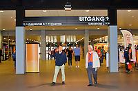 September 12, 2014, Netherlands, Amsterdam, Ziggo Dome, Davis Cup Netherlands-Croatia, entrance<br /> Photo: Tennisimages/Henk Koster