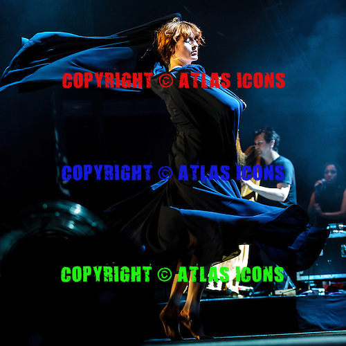 FLORENCE + THE MACHINE, LIVE, 2012, <br /> PHOTOCREDIT:  IGOR VIDYASHEV/ATLASICONS