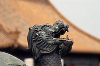 China, Peking, Kaiserpalast, vor Halle der höchsten Harmonie; Unesco-Weltkulturerbe