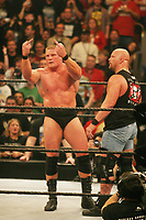 Brock Lesnar   Stone Cold Steve Austin 2004                            Photo By John Barrett/PHOTOlink