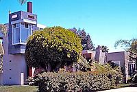 "Davids-Killory: ""Library Tower"", Architects' House, 1988. 3031 Kalmia (Burlingame) , San Diego. (Photo 2004)"