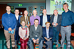 seated L-R Ann Marie Lucey, Tim Lynch and Mary Maunsell, back L-R Terry McEnearney, Morgan Sheehy, Donal Lucey, Joe Clifford, John Keating, Pat O'Connor and Denis Sugrue who were all involved in the Annual Race night at the Na Gaeil GAA clubhouse, Tralee last Saturday.