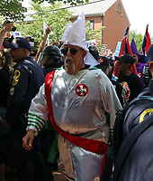 20170708_Ku Klux Klan KKK Antiffa BLM Protestors in Charlottesville