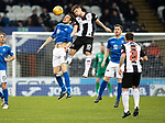 St Mirren v St Johnstone…26.12.18…   St Mirren Park    SPFL<br />Murra Davidson and Cameron Smith<br />Picture by Graeme Hart. <br />Copyright Perthshire Picture Agency<br />Tel: 01738 623350  Mobile: 07990 594431