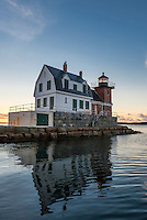 Rockland Breakwater Light, Rockland, Maine, USA