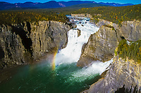 Victoria Falls, Nahanni River, Nahanni National Park Reserve, UNESCO site, Northwest Territories, Canada