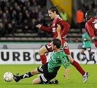 Cercle Brugge - KV Kortrijk..foto VDB / BART VANDENBROUCKE