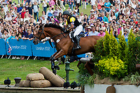ECU-Ronald Zabala-Goetschel (MASTER ROSE) 2012 LONDON OLYMPICS (Monday 30 July 2012) EVENTING CROSS COUNTRY: INTERIM-48TH