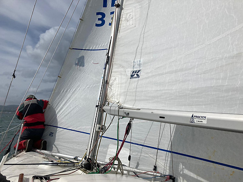 All Bandit's racing sails are the latest UK sailmakers designs